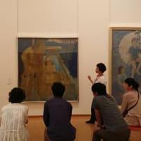 浜田市世界こども美術館「橋本弘安展」の対話型鑑賞会レポート③です(2019,6,29開催)