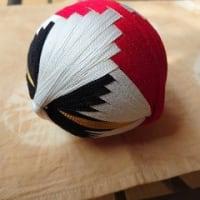 加賀手毬「巻き鶴」
