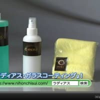 ラディアス ガラスコーティング剤 プロ仕様