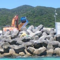 琉球セメントの新桟橋を辺野古に土砂を運ぶガット船に優先使用させる異常さ