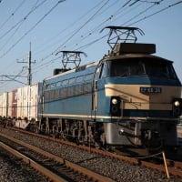 2016年2月撮影「貨物列車」