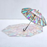 ステンドグラス風の傘