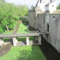 ブルターニュ大公城、ナントの大聖堂の観光。