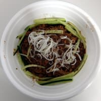 【テイクアウト】汁なし担々麺@火鍋担々麺 クーロン