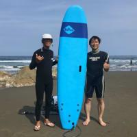 初サーフィン★LES