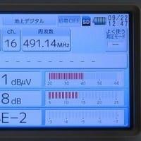 千葉県:白井市十余一にて、地デジ屋根裏アンテナ工事