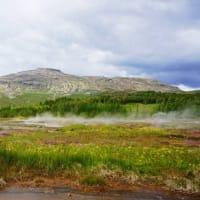 アイスランドのレイキャビック ヨロヨロ歩き