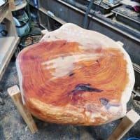 いすみ市日在『 野瀬銘木店 』× ⌂外房の家イノベーションプロジェクト!! は、植栽工事完了!&「 華しずく 」のテーブル購入完了!