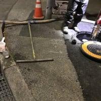 配水管の夜間洗浄・・・千葉県企業局