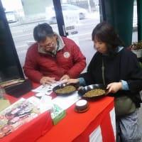 加賀棒茶を味わうため、千葉県からのお客様がお立ち寄りいただきました。