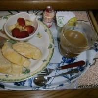 一味ちがうスープの朝ご飯(給湯器の交換!)