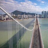 7月27日午前8時 釜山広安大橋を歩こう!!!
