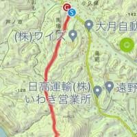 滝富士 白水阿弥陀堂