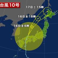 台風の進路を変えるとか消滅させるような研究を進めてください