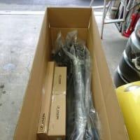 カスタマイズを任されている「ジムニーシェラ」用のJAOS社製パーツが到着しました!