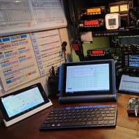 マウス タブレットPC ハムログ運用