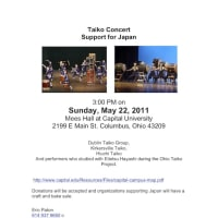 Taiko Concert - Craft & Bake Sale