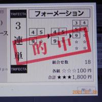 大井 TCK女王盃 3連単F 的中🤣🤣🤣 5610円 ④→⑨→③
