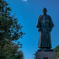 ジョン万次郎銅像【高知県土佐清水市】