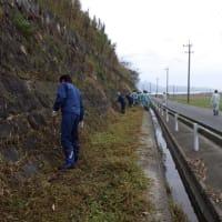 旧玉名干拓施設の草刈り清掃活動に参加しました。