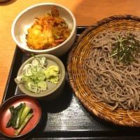 かき揚げ丼定食