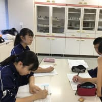 入船茶屋の立川第三中学校職場体験 5日目最終日 2019年9月6日(金)