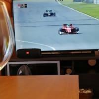 Super Formulaをテレビ観戦。