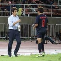サッカー 西野タイ、W杯二次予選 突破 いけるぞ !
