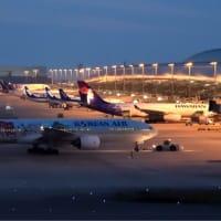 初めての  セブパシフィック航空 Airbus A330-300 (RP-C3346)  予定より早く到着でラッキー❗️