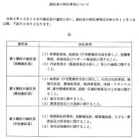 世田谷区副区長が3人体制となりました