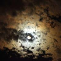 中秋の名月と秋の空模様