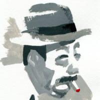 志村喬(アクリルガッシュ画)