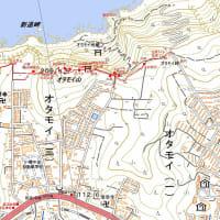 オタモイ山のGPSトラック