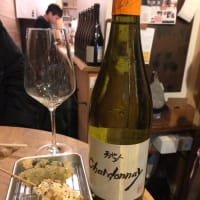 ジブリワインと天ぷら串って