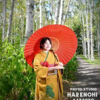 9/6 成人式撮影・ロケーションもね♫ 札幌写真館ハレノヒ