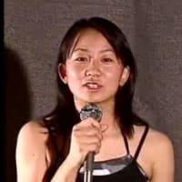 某有名女性(アイドル?)歌手の中学生時代。