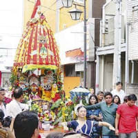 Indian Festival in Kawasaki Ratajatra