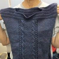 今月の編み物作品(カルチャー)