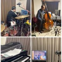 【外山トリオ、2年ぶりにレコーディングしてきました!!】