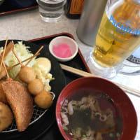 運転手は次女 「串カツ田中」 生ビールがお安くなっていたので「昼呑み」で!