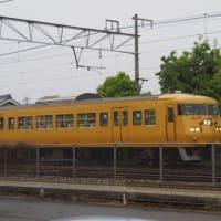 2019年4月25日,今日の山陽線 117系