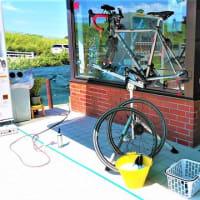 移転後新サービス第3弾(水洗洗車&注油&WAX)