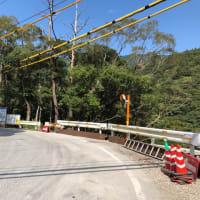 北川村平鍋の緊急工事はもうすぐ完了する見込みです。