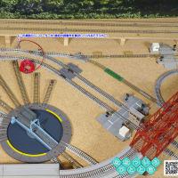◆鉄道模型、踏切の誤動作対策として、補助フィーダーを追加検討中…