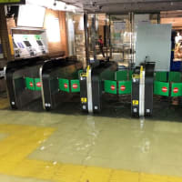 冠水した武蔵小杉駅と仙台駅の水の色の違いがヤバイ