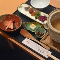 月日亭近鉄奈良駅前店の茶粥ランチ