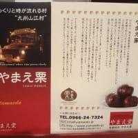 ふるさと納税で熊本県山江村から栗渋皮煮