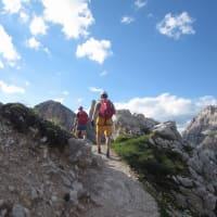2019 Alto Adigeドロミテ Tre cime 周辺の戦地後