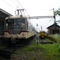 【富山地方鉄道】 岩峅寺駅にて 14760系