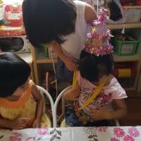3歳 おたんじょうび おめでとう♡